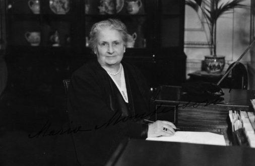 La filosofía de María Montessori