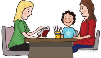 Mantén una buena comunicación con los maestros de tus hijos