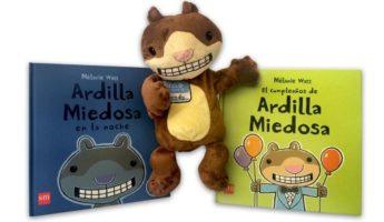 Ardilla Miedosa: una gran aliada para que los niños superen sus miedos